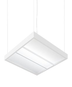 Ariel LED Modular Luminaire_Angled_Suspended