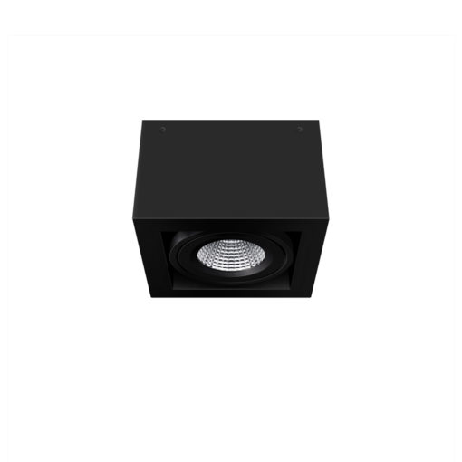 Scout LED Surface Mounted Luminaire_BK_Ambient
