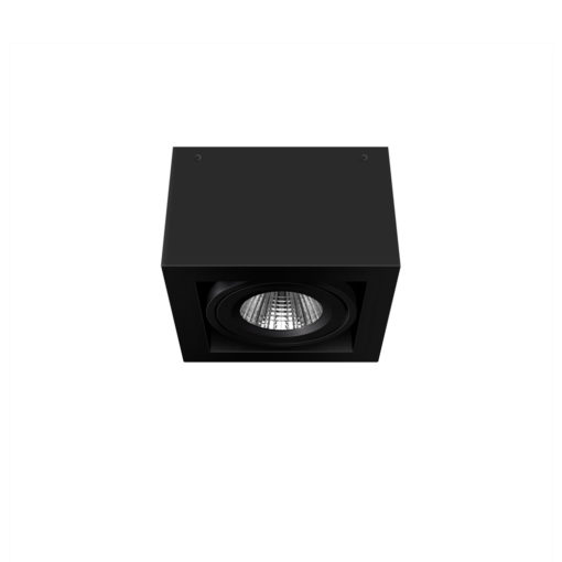 Scout LED Surface Mounted Luminaire_BK_NB_Ambient