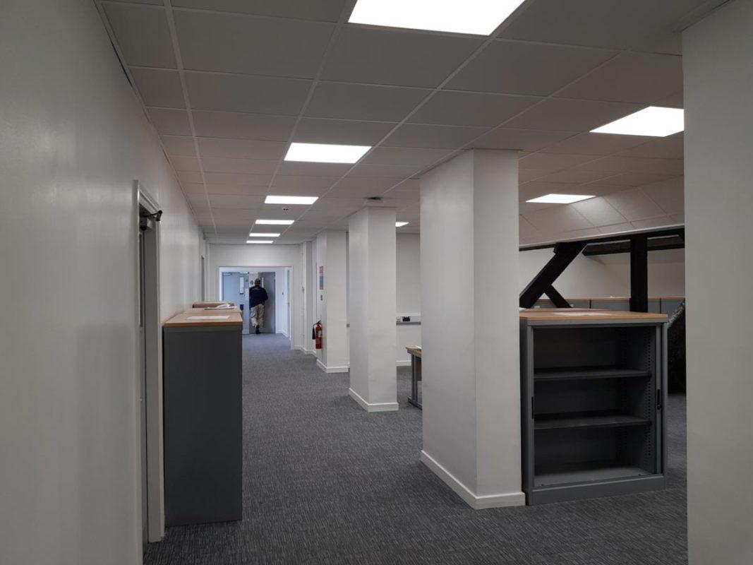 Staffordshire University Cadman Building Lighting