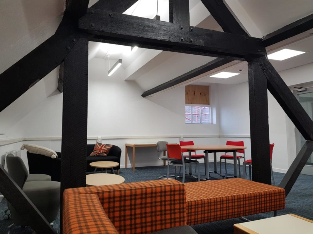 Staffordshire University Cadman Building Lighting Design