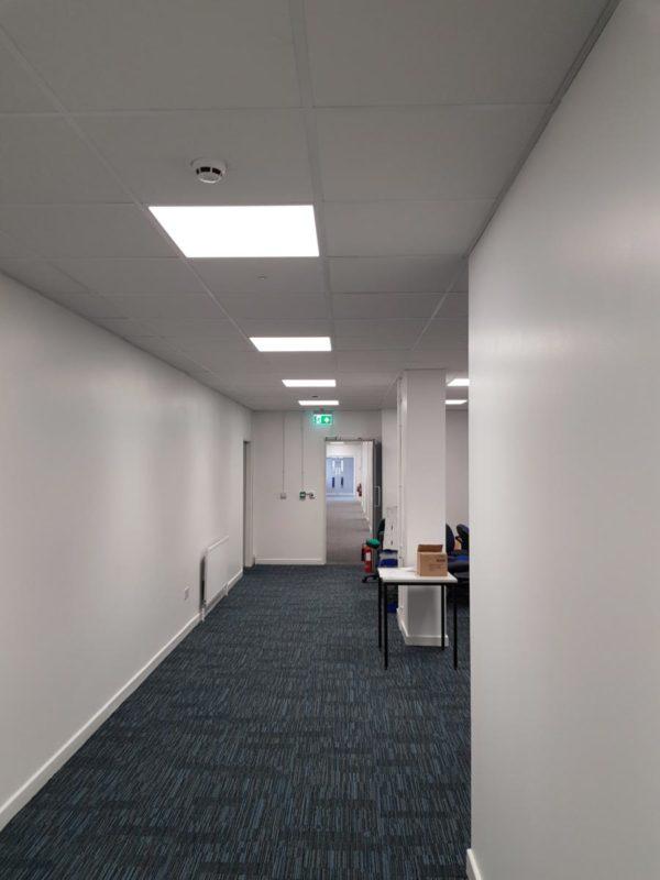 Staffordshire University Cadman Building Panels