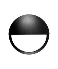 Ultra LED Bulkhead Black Eyelid
