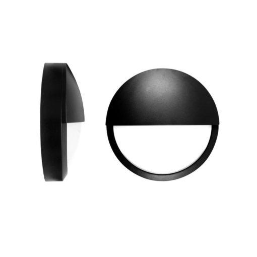 Ultra LED Bulkhead Black Eyelid Side