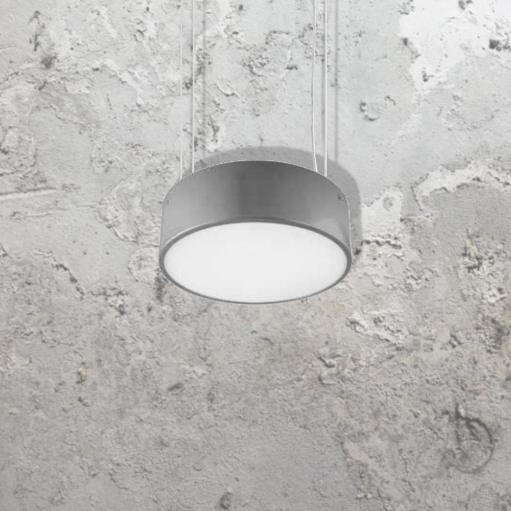 Eurolighting products suspended circular luminaire for Suspente luminaire