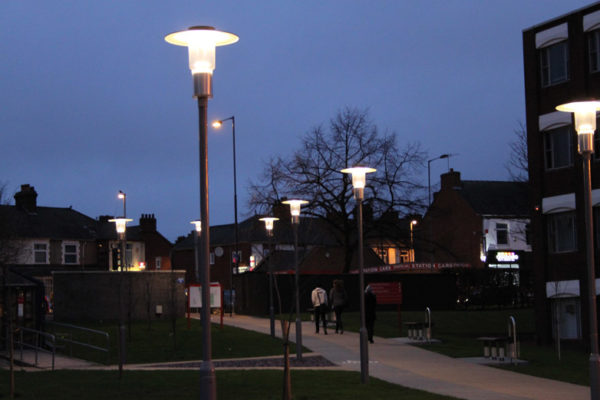 Outdoor Lighting Staffordshire University