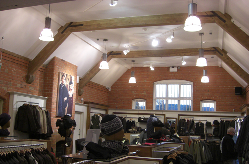 retail lighting Design