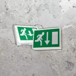 Emergency Large Exit Light