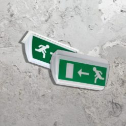 Emergency Double Sided Exit Sign