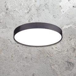 Surface architectural circular luminaire